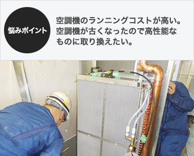 空調機器・エアフィルタの販売